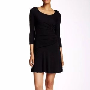 Diane von Furstenberg Black Nerissa Dress Size 10